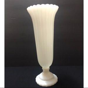 Vintage Napco milk glass vase
